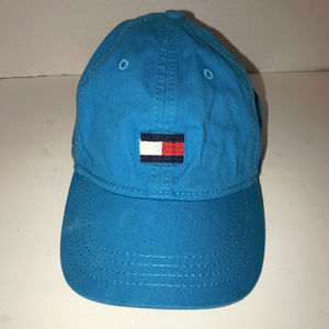 Tommy Hilfiger Kids Blue Hat Unisex 4-7 Years
